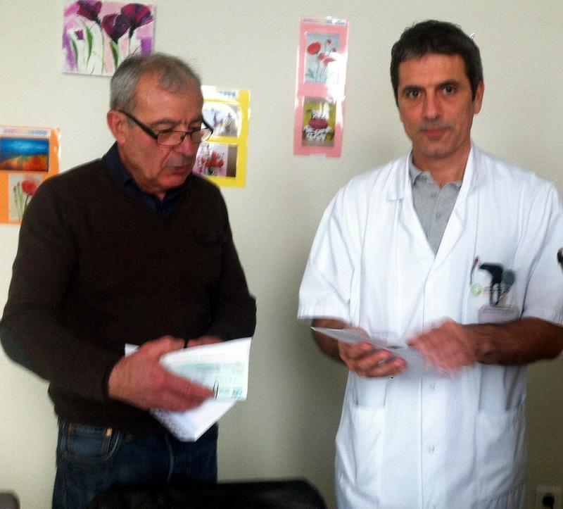 Visites à l'hôpital des enfants et à l'oncopôle