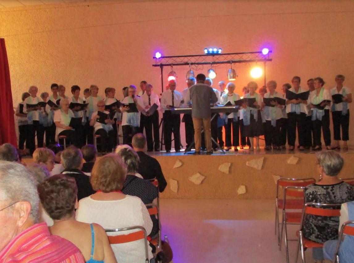 Excellent concert de chorales à Pezens en ce samedi 2 juin