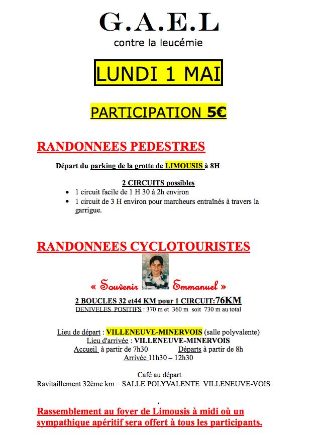Les Randos du 1er Mai
