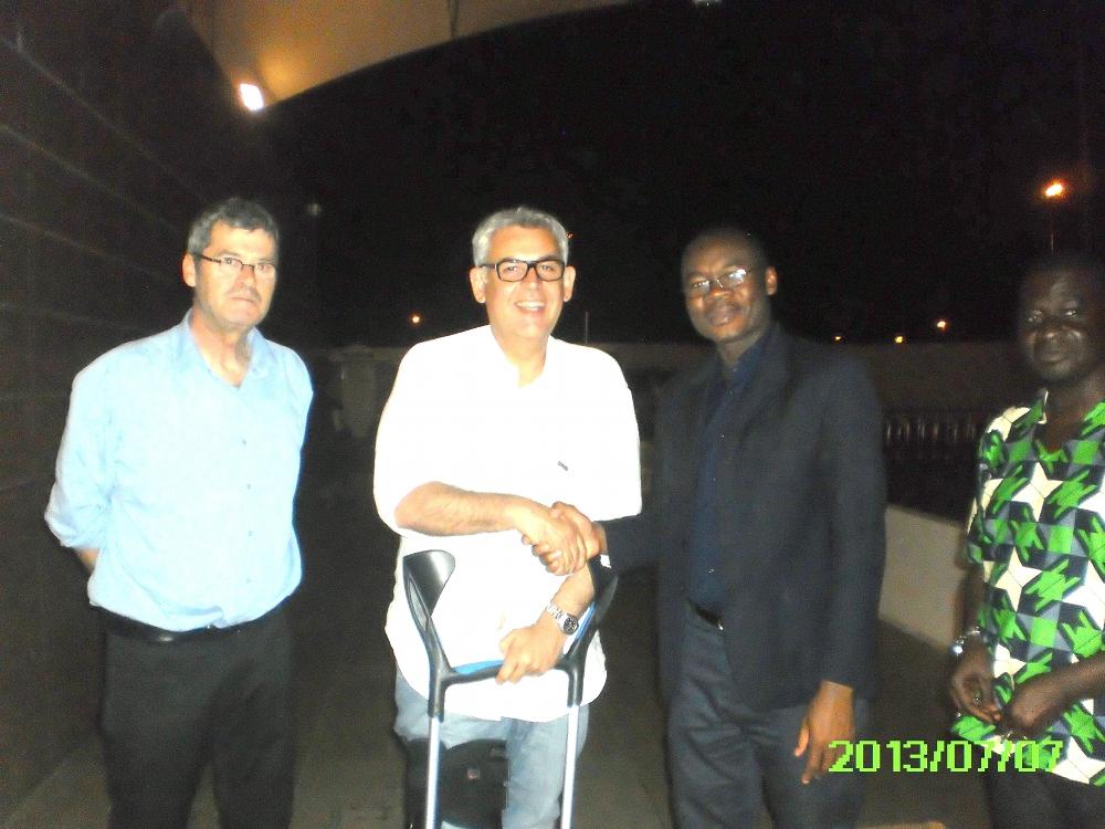 L'association GAEL aide le secteur hématologie d'Abidjan